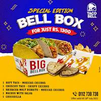 Special Edition Bell Box at Taco Bell