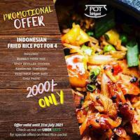 Promotional Offer at Pot Biriyani