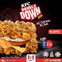 Introducing the KFC Double Down Burger