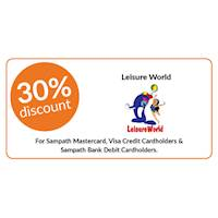 30% Discount on All Packages with Sampath Bank Cards