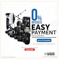 0% Installment plans for HNB bank credit cardholders at CameraLK