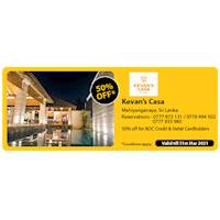 Get 50% Off for BOC credit and debit cards at Kevan's Casa