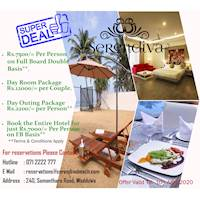Serendiva Beach Hotel Super Deals - March-April Getaway Offer