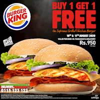 Buy One Get One FREE at Burger King!