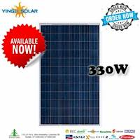 Cash Discount offer Yingli 12BB 330Wp Poly solar Panel
