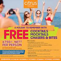 Enjoy Special Offer at CITRUS HIKKADUWA