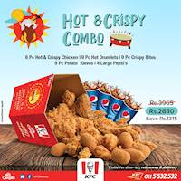 KFC Avurudu Hot and Crispy Combo