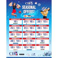 CIB Shopping Centre Seasonal Offers 2019