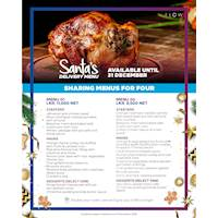Santa's Delivery Menu at Hilton Colombo Residence