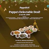 Pappa's Delectable Deal for Rs. 3,500