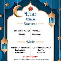 IFTAR BUFFET at Madras Masala