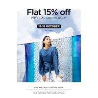 Flat 15% Off at Dilly & Carlo