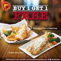 Buy 1 Get 1 FREE offer is back at the Manhattan FISH MARKET Sri Lanka