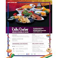 Delhi Durbar Indian Cuisine at Hilton Colombo Residence