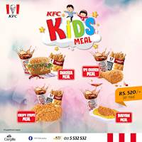 KFC Kids Meals - Colour your kids with finger lickin' goodness!