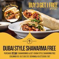 Buy 3 Get 1 Free at Arabian Knights