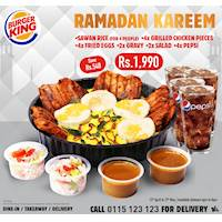 Celebrate Ramadan with Burger King special offer