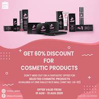 Head on over to Miniso Sri Lanka at One Galle Face Mall and get discounts up to 60% on selected cosmetic products!