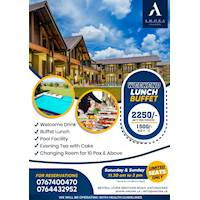 Weekend Lunch buffet from Amora Lagoon