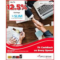Get up to 12.5% savings on selected course fees at SLIM with DFCC Credit Cards!