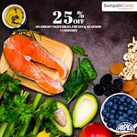 25% OFF FOR SAMPATH CREDIT CARDS ON SATURDAYS at Arpico Supercentre