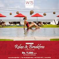 Weekend Offer - Relax & Breakfree at W15