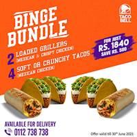 Binge Bundle at Taco bell