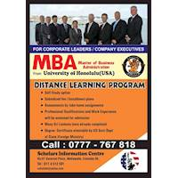 Distance Learning Program for Corporate Leaders