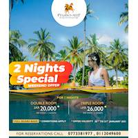 Two Nights Special at the Pegasus Reef