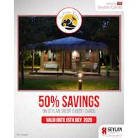 Enjoy 50% off with your Seylan Credit & Debit Card at The Other Corner Hotel until the 15th of July 2020
