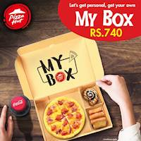 MY BOX for Rs. 740 from Pizza Hut