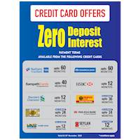 Damro Credit Card Offers - Zero Deposit, Zero Interest