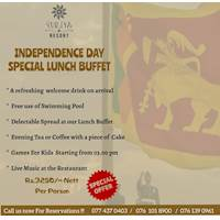 Enjoy the Independence Day Special Lunch Buffet at Suriya Resort