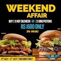 Weekend Affair at Street Burger