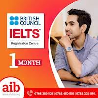 Scholarship IELTS preparation course