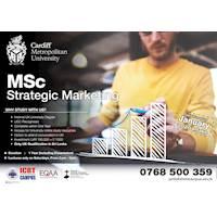 MSc - Strategic Marketing at ICBT Campus