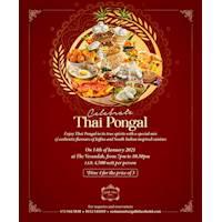 Enjoy Thai Pongal at The Verandah, Galle Face Hotel