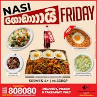 Nasi ගොඩායි Friday with Free Nasi Goreng + 1L Coca-Cola at Chinese Dragon Cafe!
