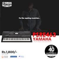 Get up to 40 months Installment 0% Interest at Yamaha Music Center