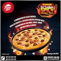 Pizza Hut introduces the SRI LANKAN SPICY CHICKEN PIZZA