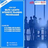 IELTS Intensive Training Program ONLINE