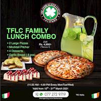 Family Lunch Combo at The Four Leafed Clover