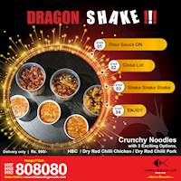 No more Unhygienic, Carb filled Kottu, Enjoy Dragon Shake at Chinese Dragon Cafe!!!