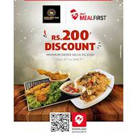 Download EatMealFirst and claim Rs 200 discount for orders for value Rs 1000 and above from Nom Nom thai