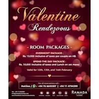 Valentine's day at Ramada Colombo