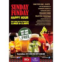 Sunday Offer - Buy One Get One Free at The Steuart by Citrus - &Co Pub and Kitchen