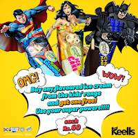 Buy any flavoured ice-cream from the kids' range and get one free at Keells