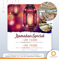 Ramadan Special at Mandarina Colombo