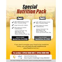 ☀✅ Special Nutrition Pack ✅☀