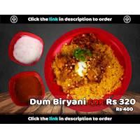 Dum Biryani for Rs. 320 at Royal Burger